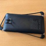 旅行用のモバイルバッテリーはケーブル内蔵型が便利!おすすめはType-Cも付いている物。