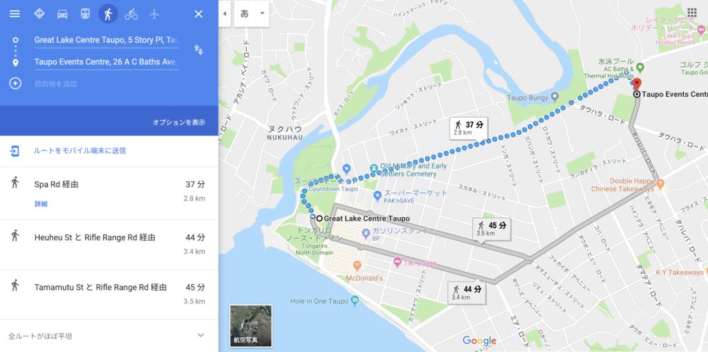 パーティ会場の地図