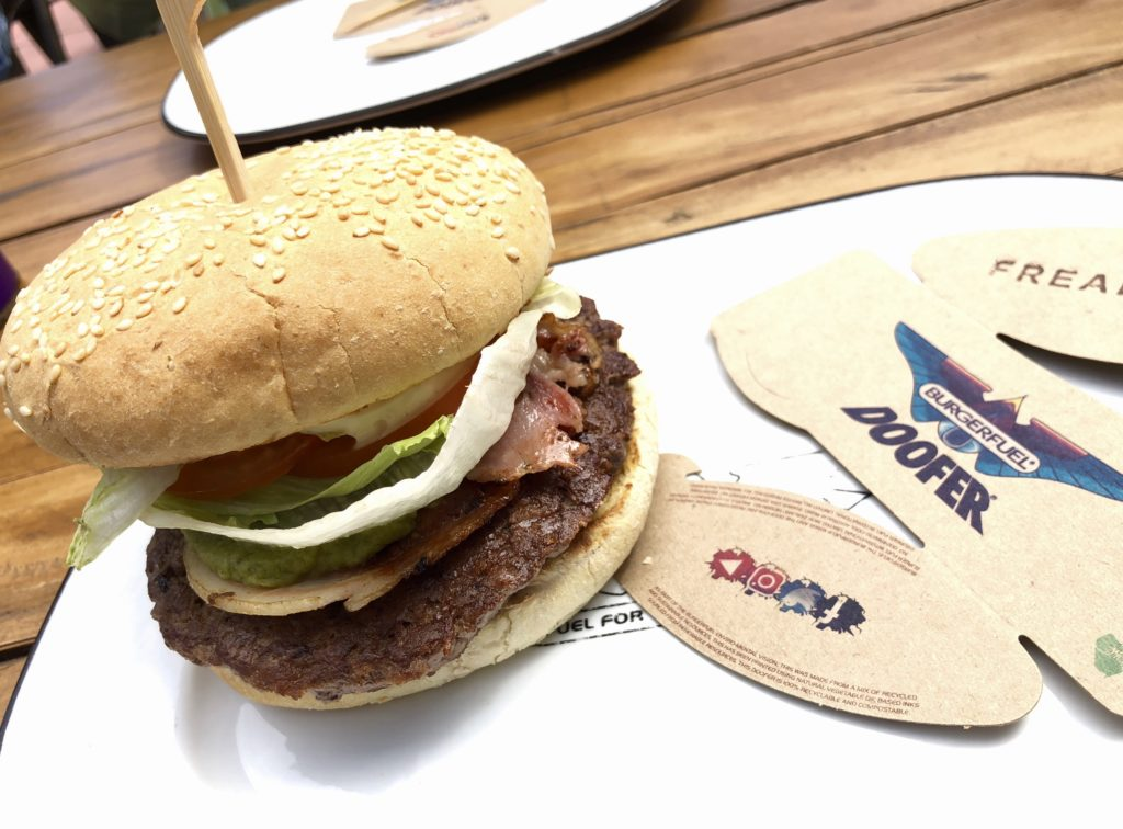 BurgerFuelのハンバーガー